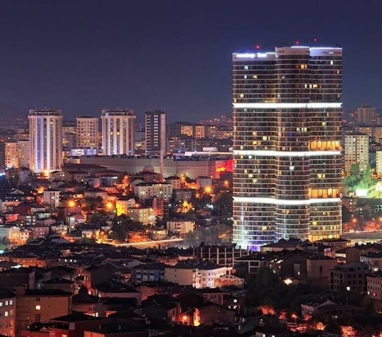At night you will be shining