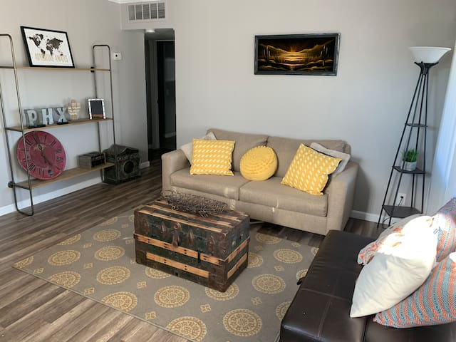 APT close to Downtown, convention center,Airport