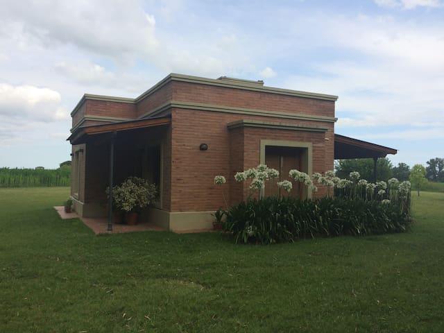 Cabaña de campo La Teodora, ideal para tu descanso - Mercedes - Přírodní / eko chata