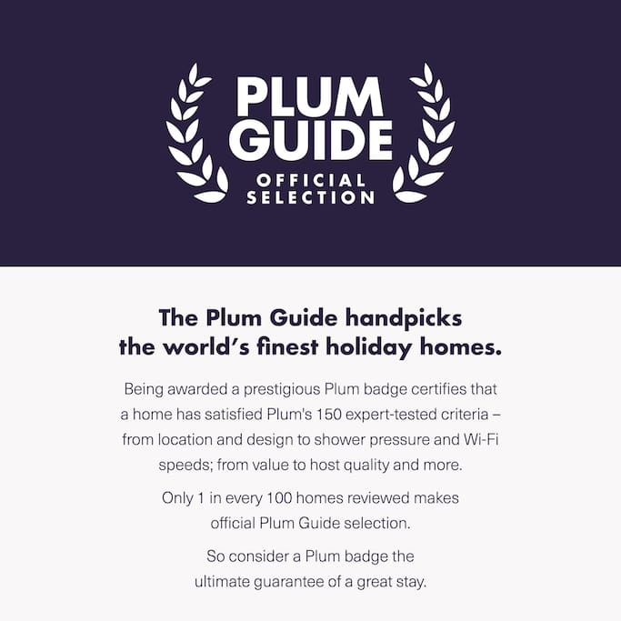 The apartment has passed The Plum Guide's exhaustive testing for the top 1% of apartments in London