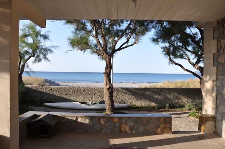 Casa en la playa, vacaciones en el paraiso. - Son Serra de Marina - Huis