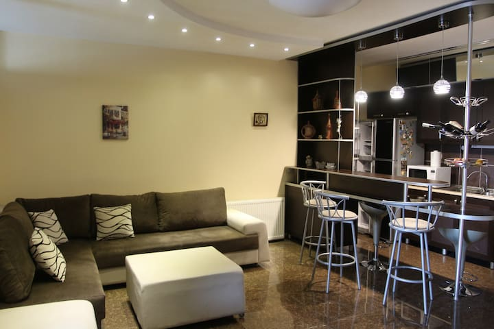 Apartment in Didube, near Tsereteli Metro Station.