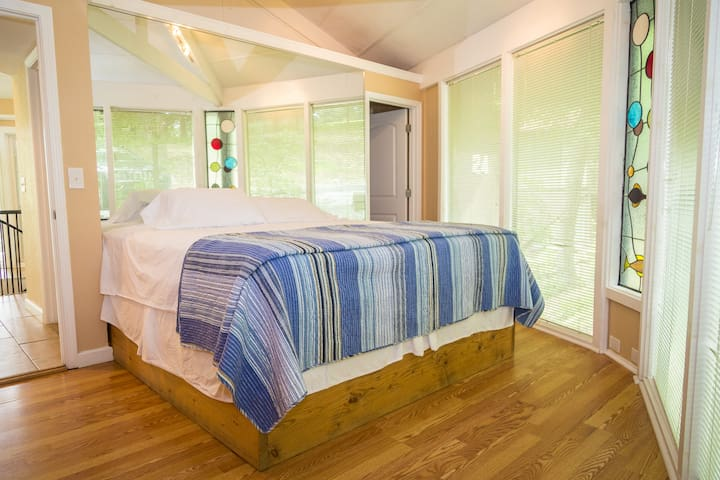 Master bedroom has an master Bath Off it PRIVATE