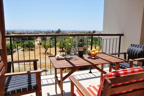 Cozy Village Retreat with Beautiful Views & Pool