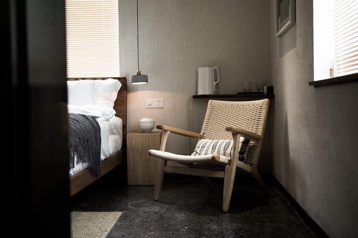 行山·樨园 / XI VILLA #301庭院景观大床房