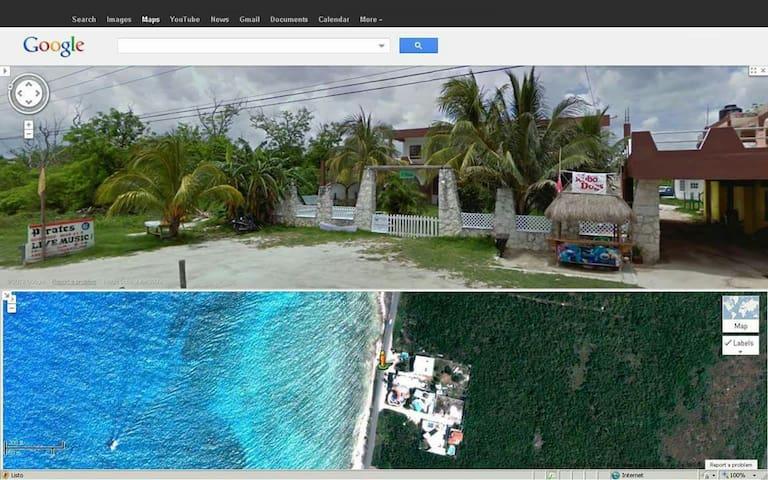 118US/Night Cozumel Ocean Front 2 Bedrooms Villa