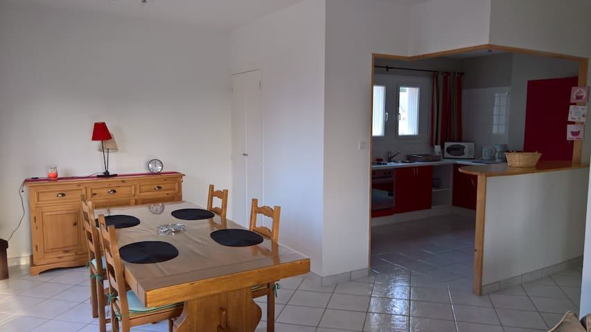 Grand appartement au coeur de Carnac plage