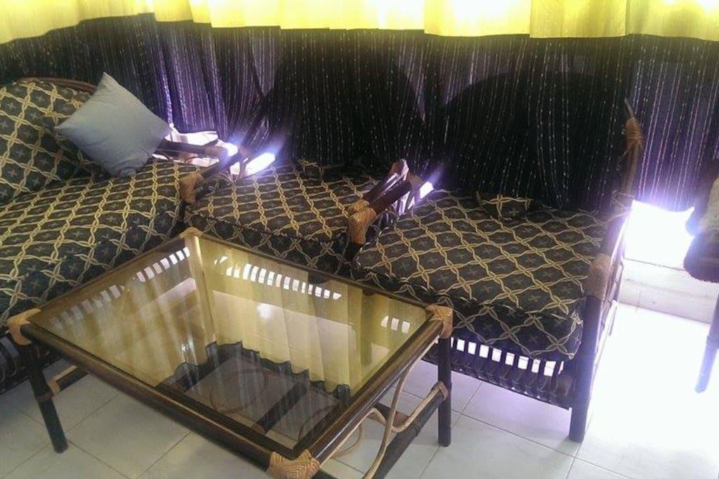 balcon avec salon