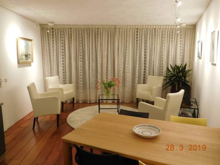 Great waterview apartment in healthy environment