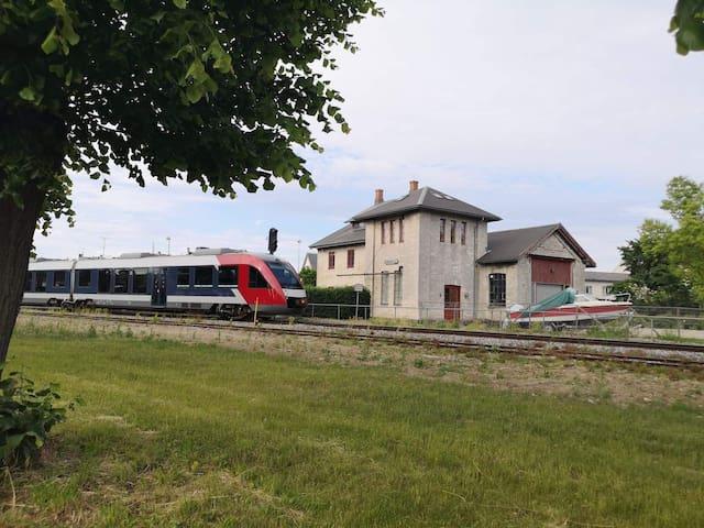 Overnat i Danmarks ældste Jernbane Vandtårn.