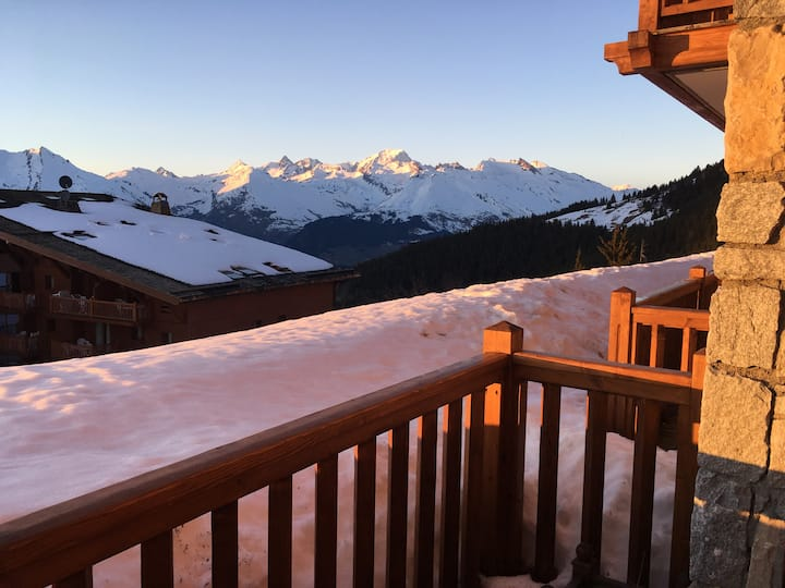 Studio standing skis aux pieds Arcs 1800-Paradiski