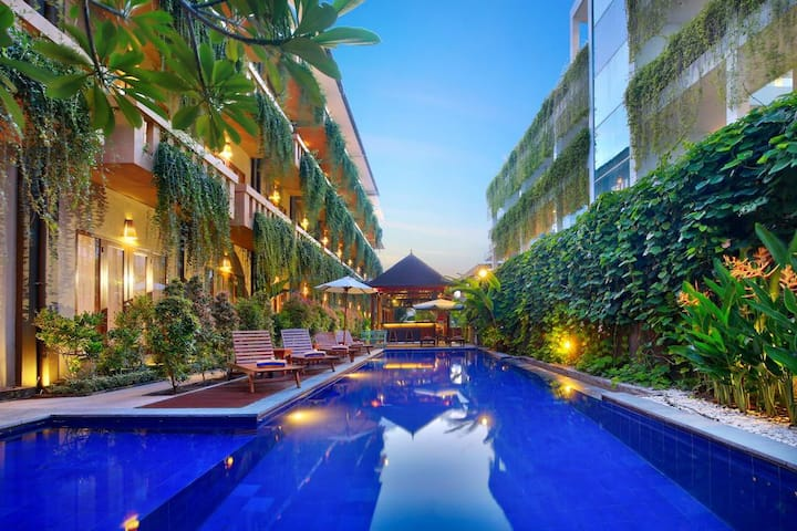 NEW - One Double Room for 2pax near CENTER LEGIAN