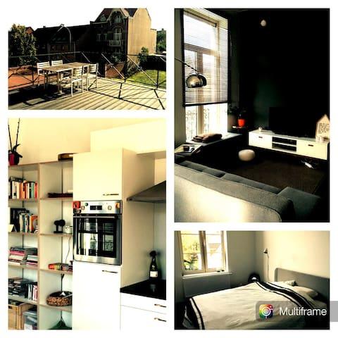Charme appartement in Eikevliet - Bornem - Apartamento