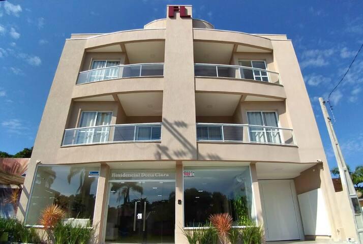 Apartamento conjugado - Residencial Dona Clara
