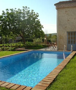 Georgous Istrian stonehouse sharing private pool. - Stranići kod Lovreča - 別荘