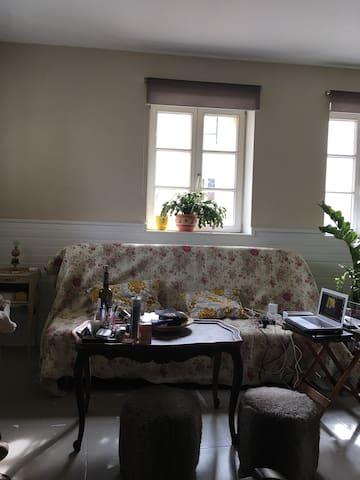 Petite chambre dans bel appartement - Sainte-Ruffine - Huoneisto