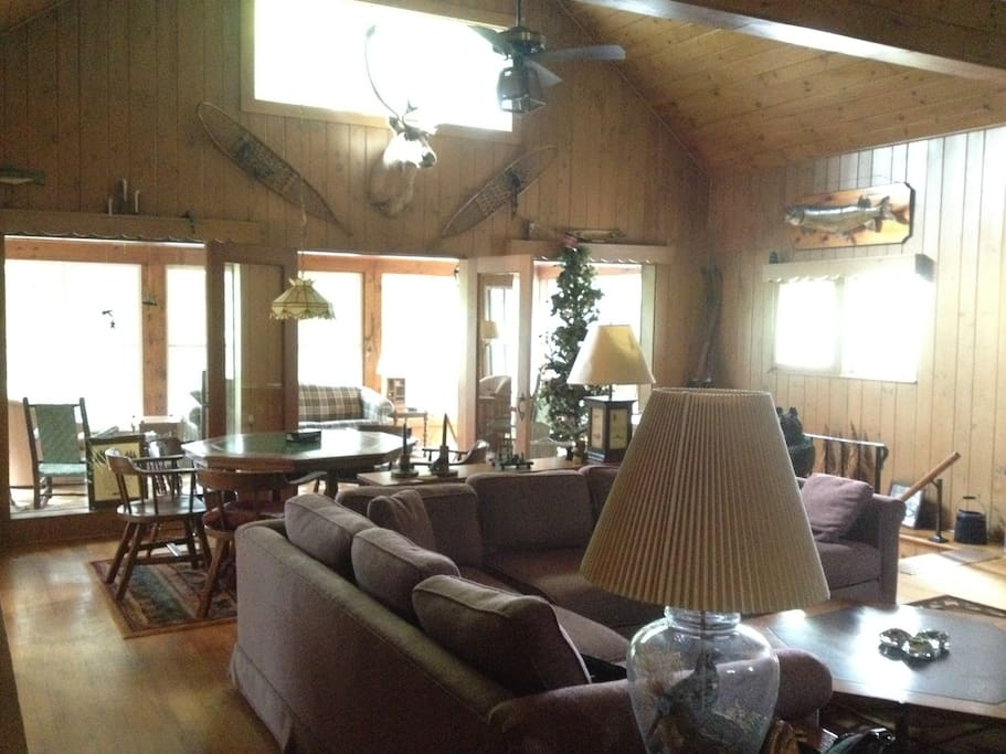 Another shot of the main living room.