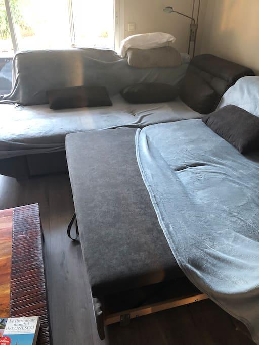 Canapé lit Salon