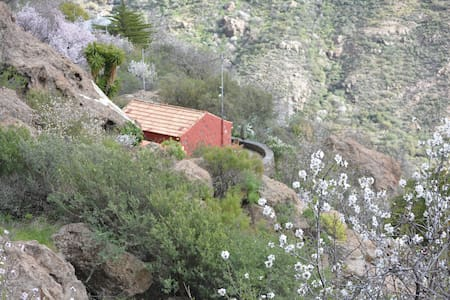 Lovely cave house the Pedregal