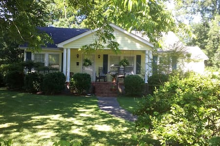 Classic Southern Bungalow near Silver Comet Trail - Cedartown - Haus