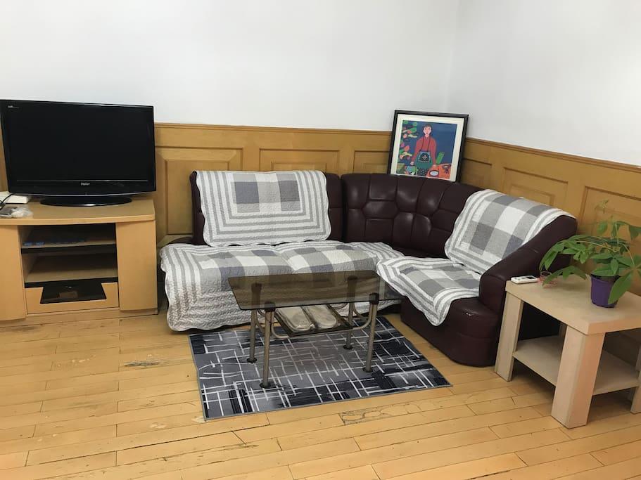 客厅,无线网络电视