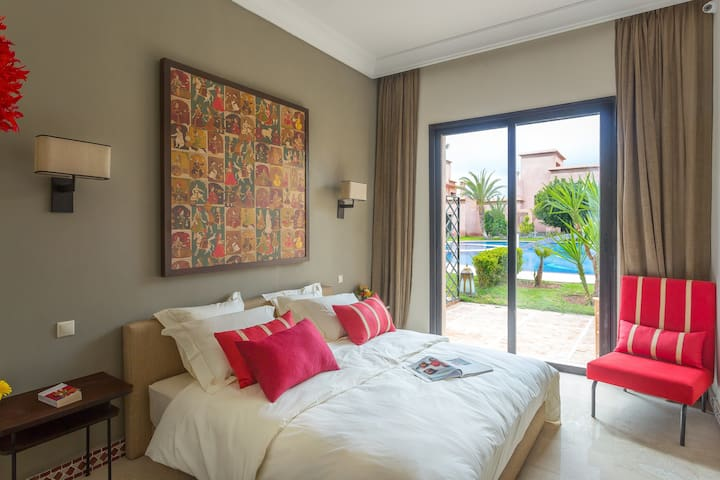 Charming rooms in Riads with Atlas view - Marraquexe - Casa de campo
