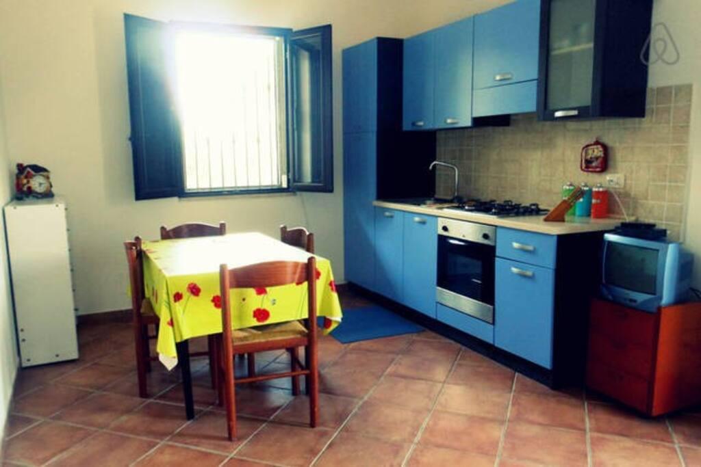 Sala pranzo - cucina