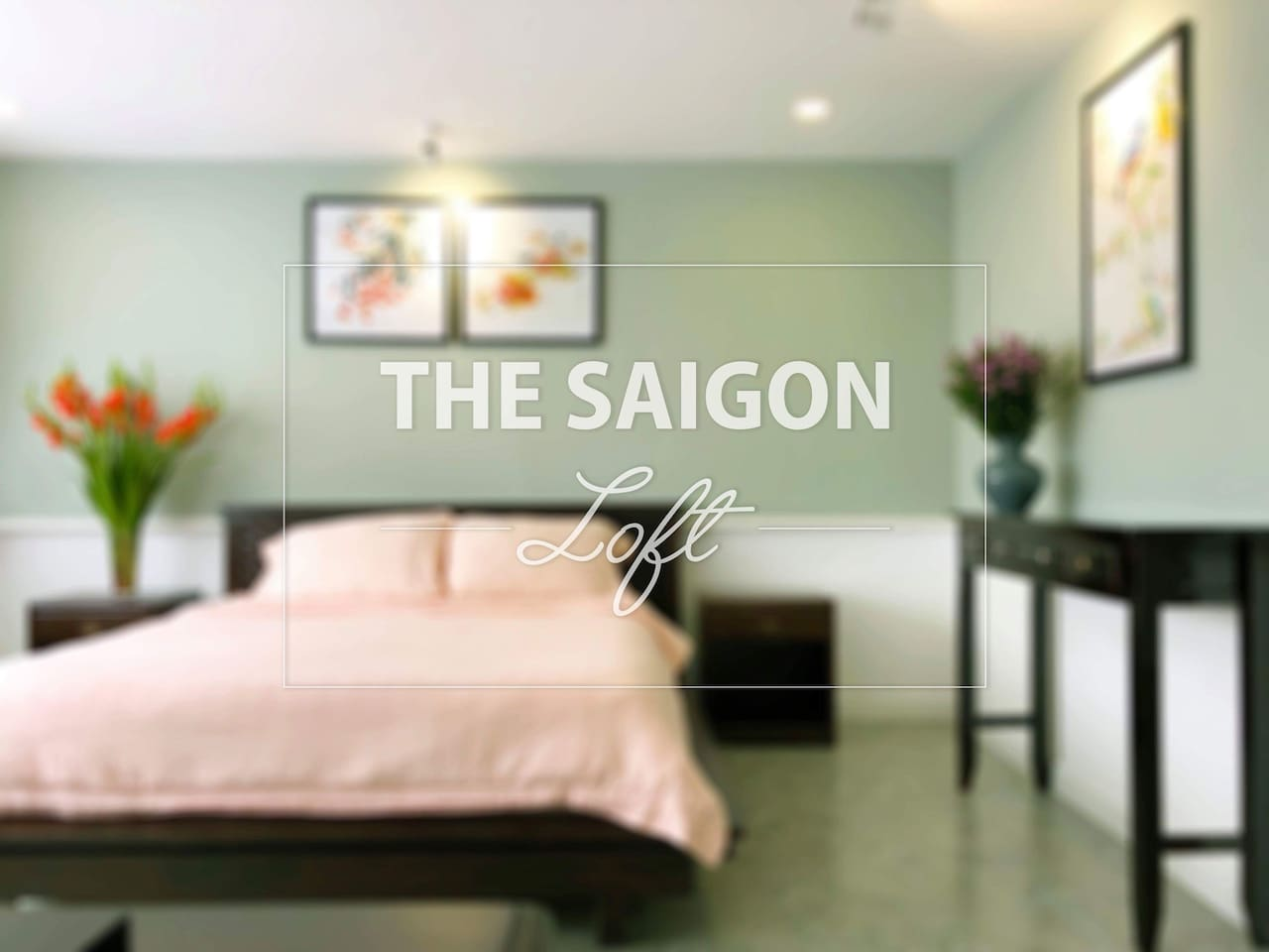 Saigon-Tan Dinh Riverside Loft