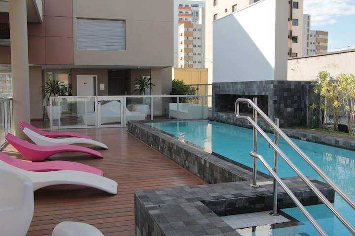 Studio 305 perto Av.Paulista, piscina , fitness