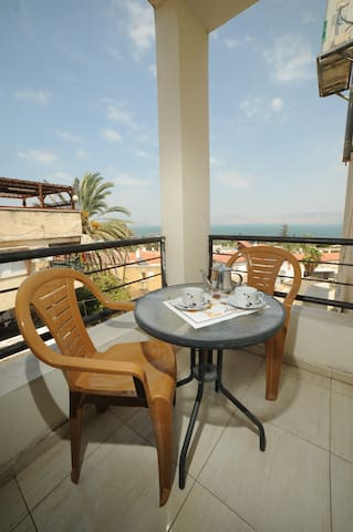 *Studio apt *Lake view - Tiberias - Appartement