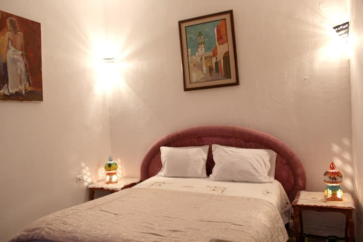 Apartment with 2 bedrooms in Tunis, with WiFi - 4 km from the beach