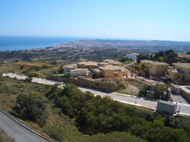 La vista de la terraza