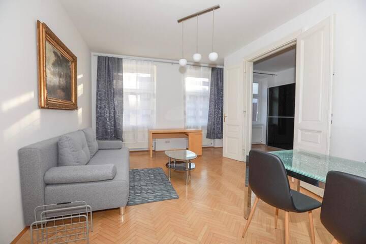Quiet cosy apartment close to city centre