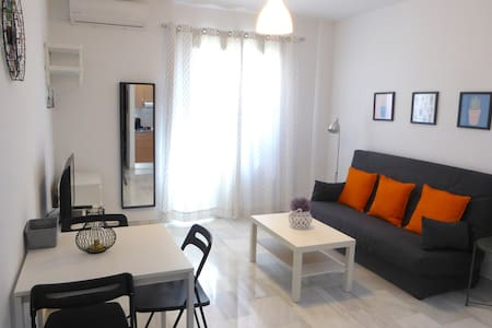 Central independent apartment, ideal for couples.
