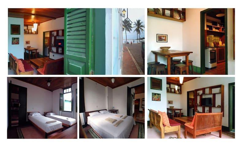 Casarao Azul - Apartamento Samba - Itacaré