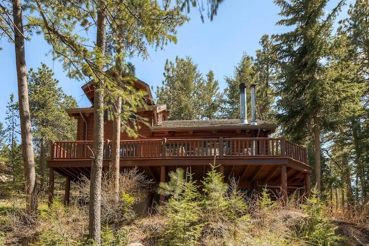 Modern Log Cabin - Lyons