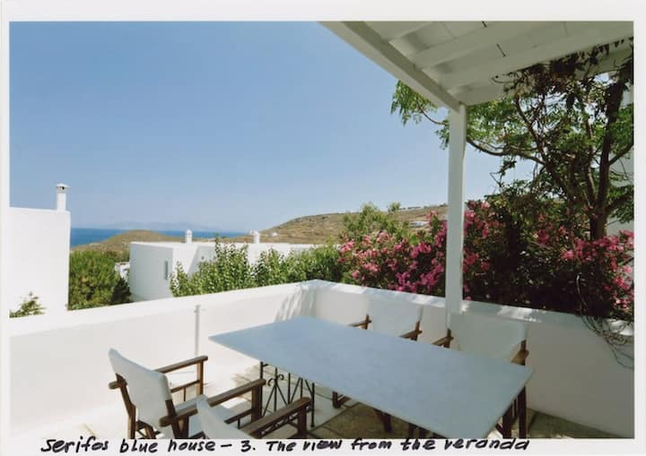 Serifos Blue Harmony traditional house