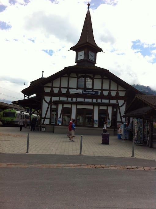 Bahnhof Zweisimmen