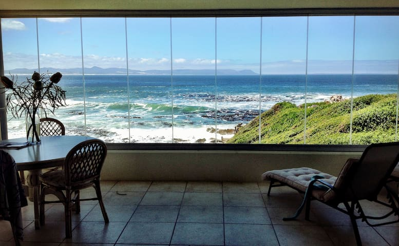 Whale Pad - Sea  Front Apartment with Pool access