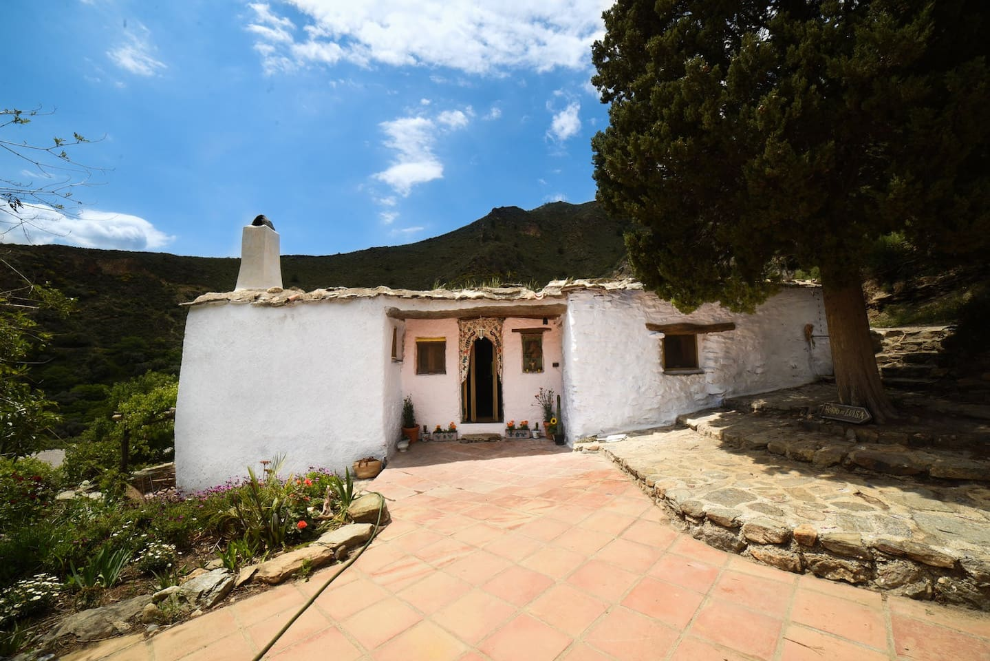 Our traditional Alpujarran style farmhouse, fully modernised for comfortable off grid life. Escape the bustle of modernity without missing out on comfort.