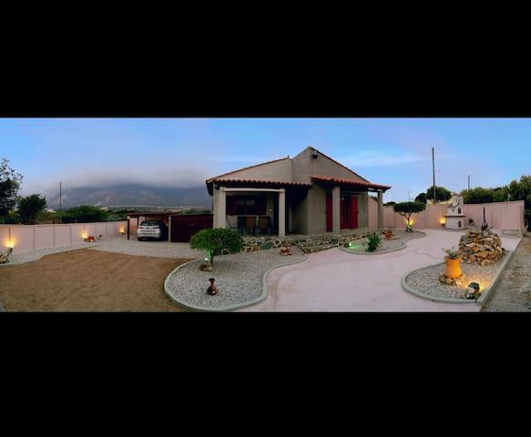 Batilas House next to exotic beach of Elafonisi