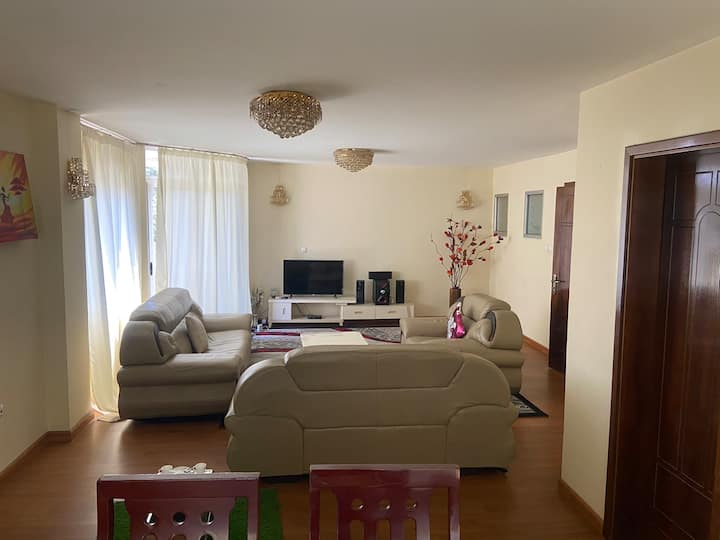Cosy & spacious Appartment in the heart of Bole @1