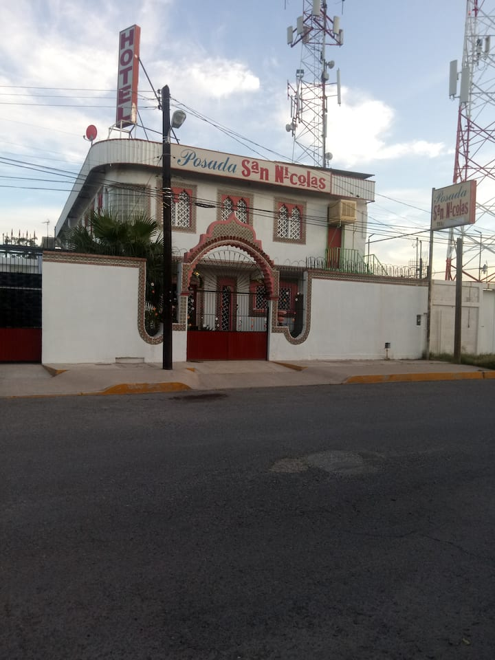 Hotel Posada San Nicolas.
