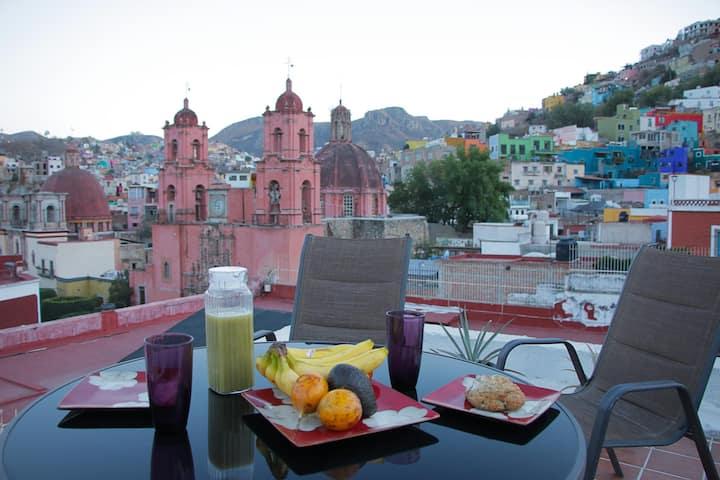 Private room and bathroom Centro  Guanajuato