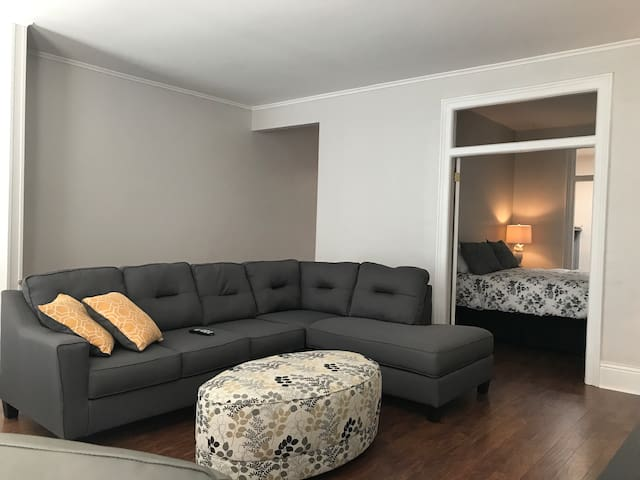 Great Room with large couch