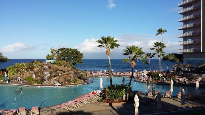 Kaanapali Beach Club, 1 bdrm on ocean, scenic view