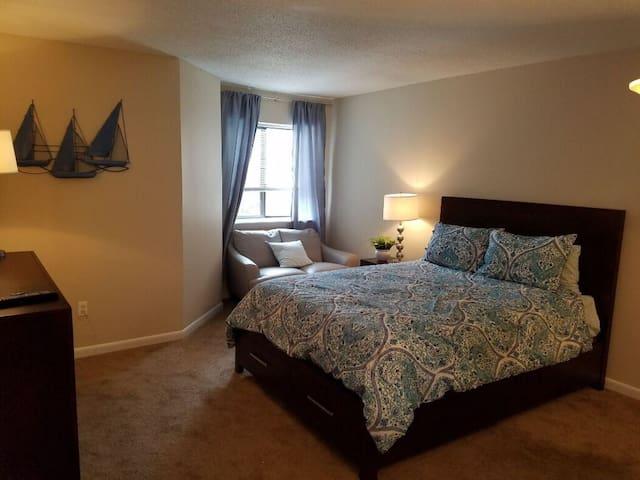 Bedroom 2 w/ Closet space