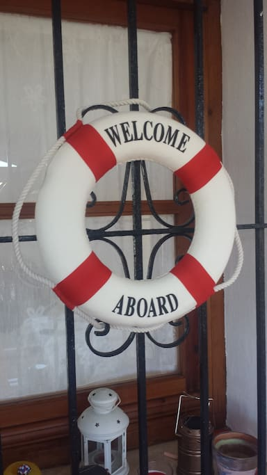 Welcome to aboard