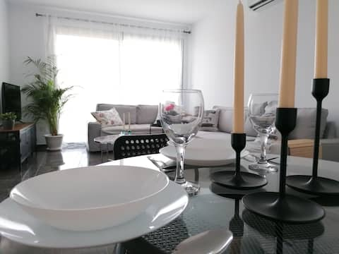 New amazing 2 Bedroom apartment near town center