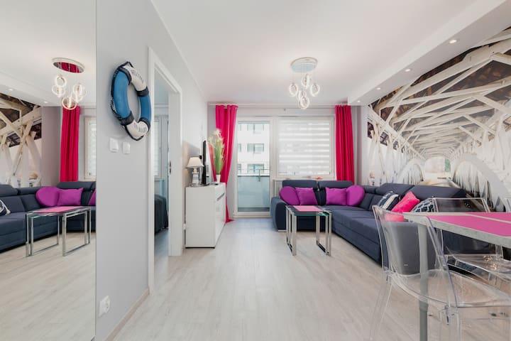 Beautiful One-Bedroom Apartment ☼ Bliżej Morza ☼